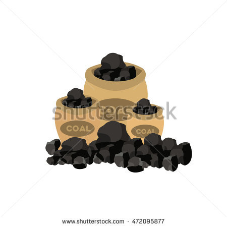 Bag Of Coal Stock Photos, Royalty.