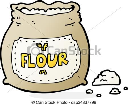 Bag of flour clipart » Clipart Station.