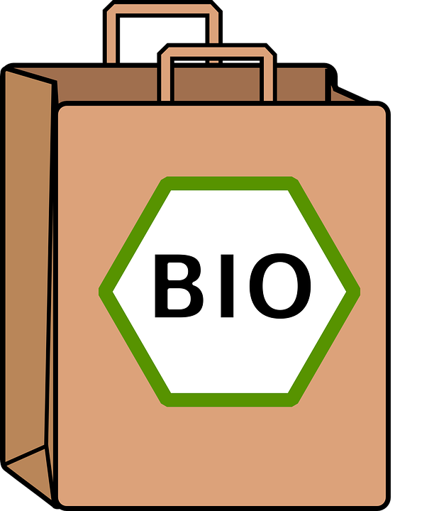 Free vector graphic: Bag, Bio, Food, Organic, Shop.