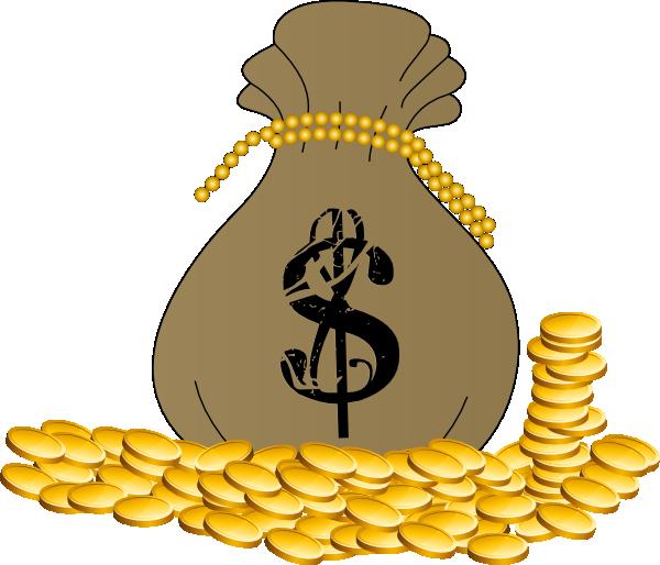 Bag Of Gold Clip Art at Clker.com.