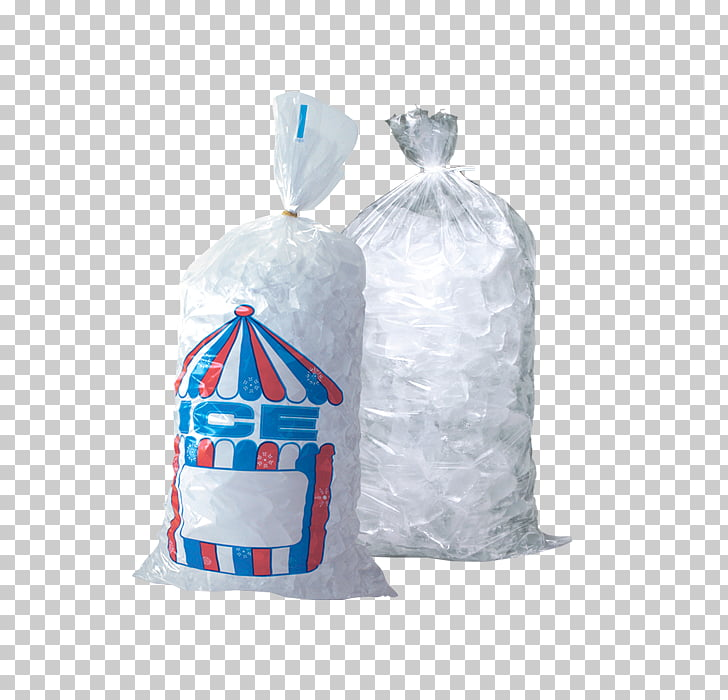 Ice Packs Plastic bag, ice cubes PNG clipart.