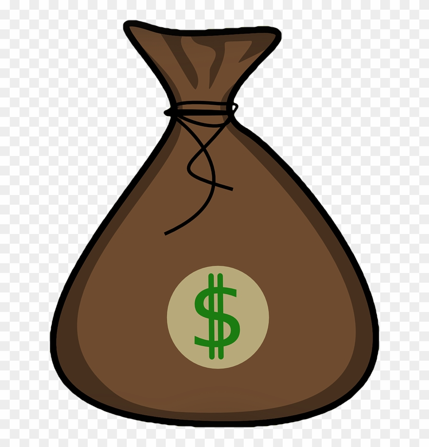Money Bag Clip Art Free.