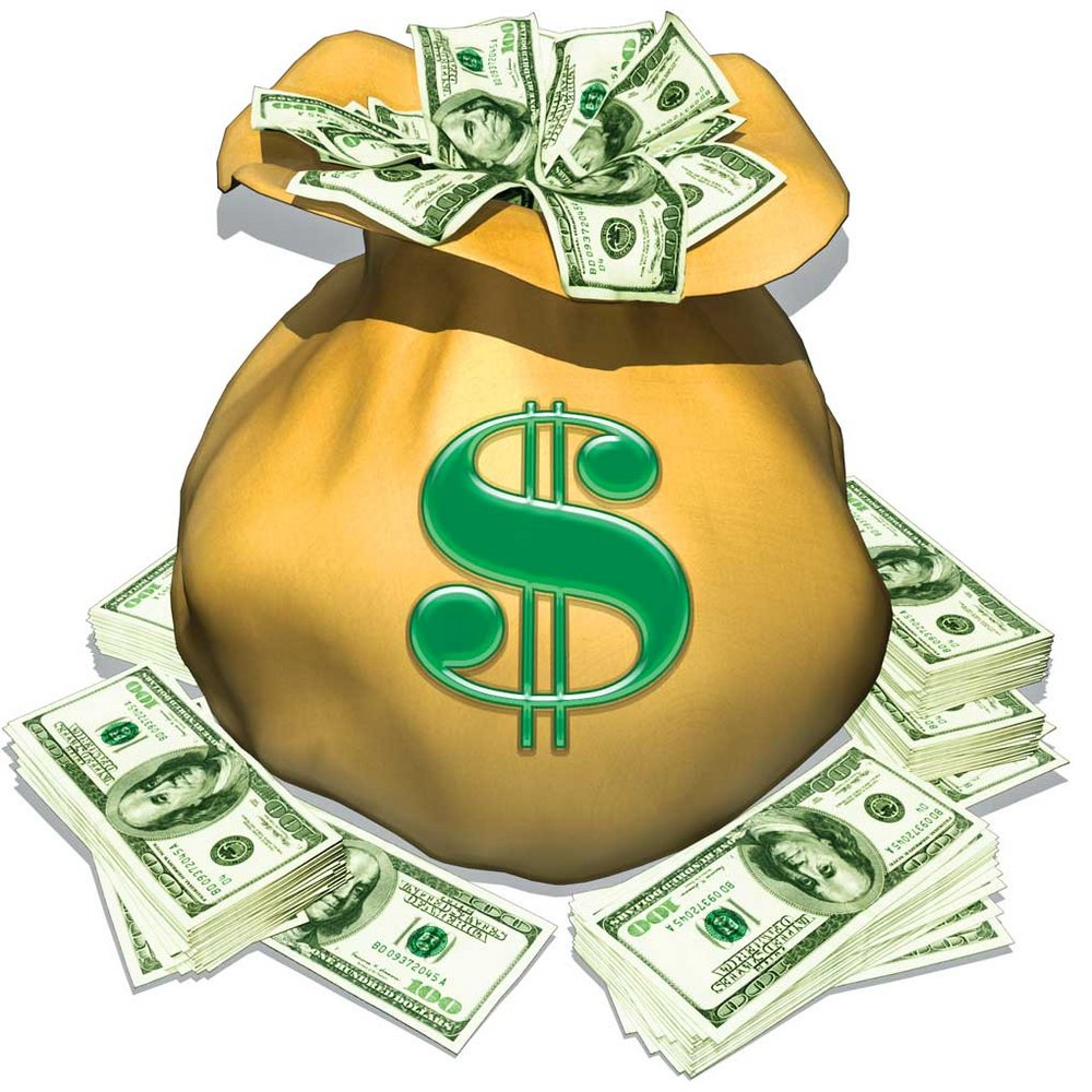 Bag Of Money Clipart Free Download Clip Art.