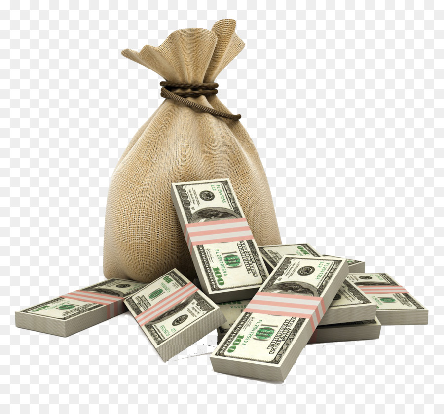 Money Bag png download.