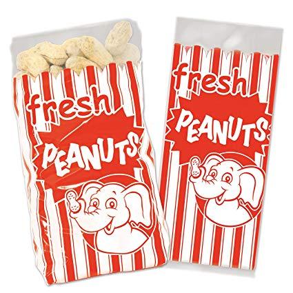 Beistle Peanut Bags.
