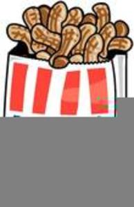 Bag Of Peanuts Clipart.