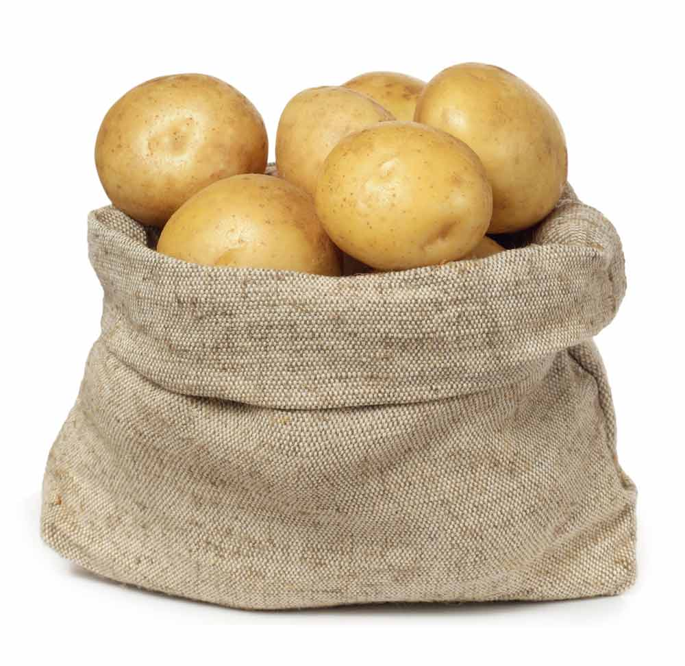 bag of potatoes clipart - Clipground