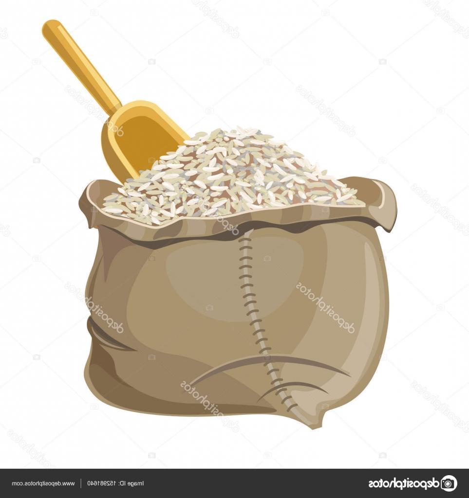 Best HD Bag Of Rice Vector Design » Free Vector Art, Images.