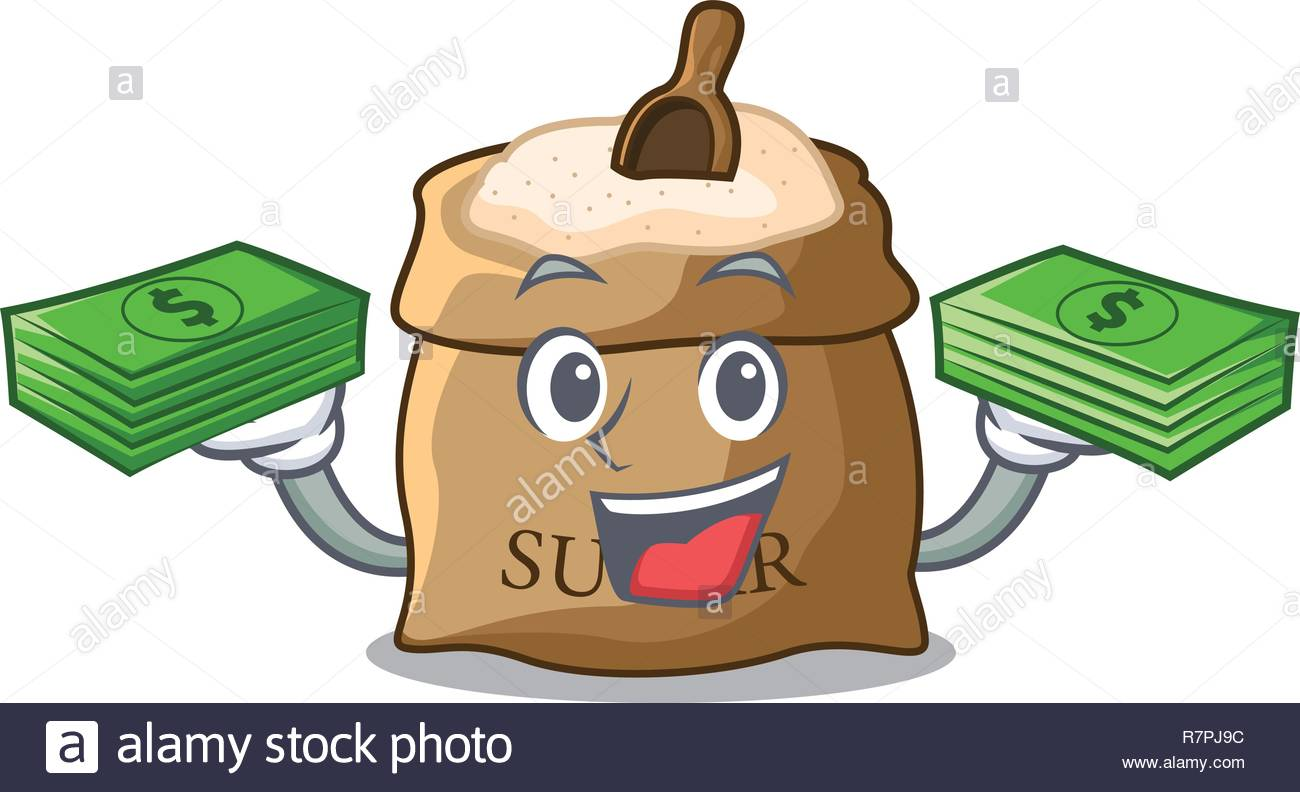 Bag Of Sugar Clipart.
