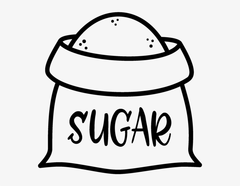 Sugar Clipart Bag Sugar Transparent PNG.