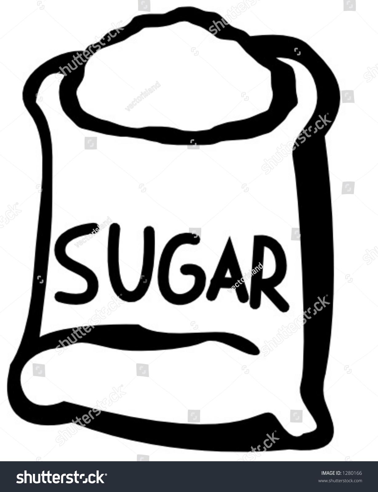 Bag Of Sugar Image.
