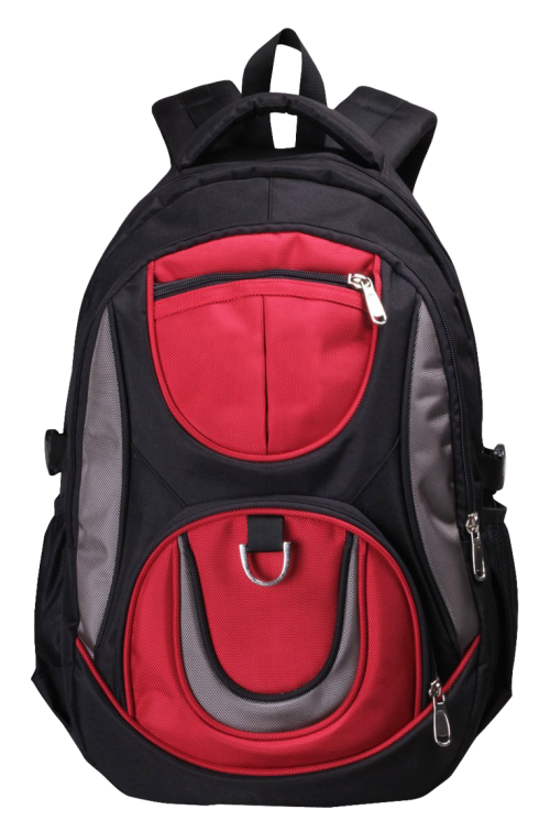 School Bag PNG Transparent Image.
