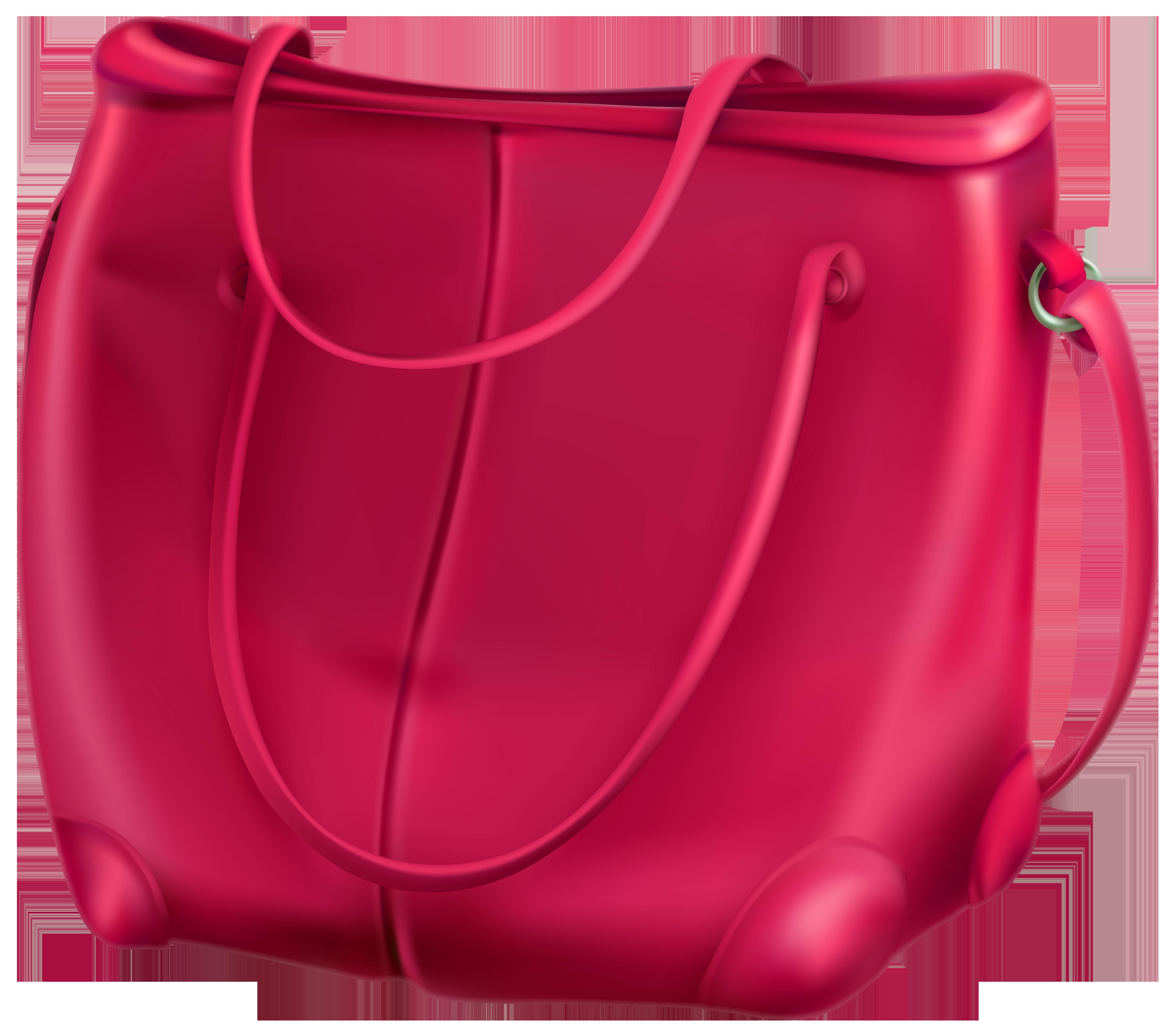 Pink Bag PNG Clip Art.