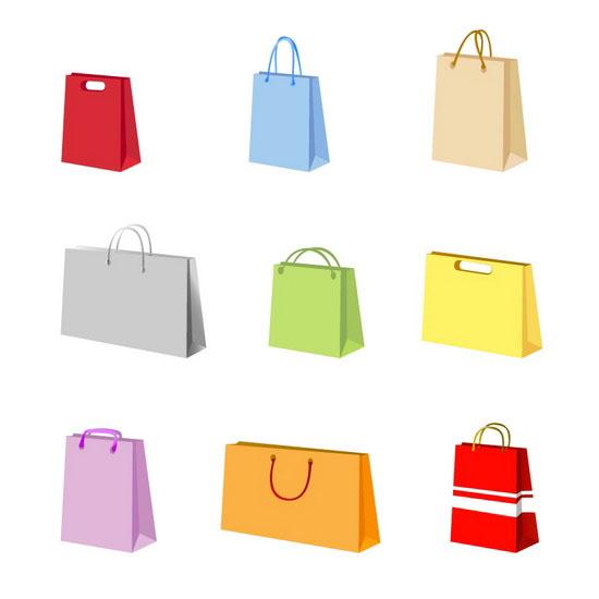 Shopping Bag Vector Free Download.