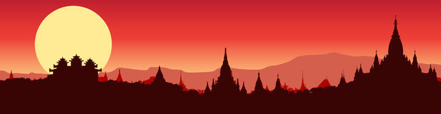 Bagan Stock Illustrations.