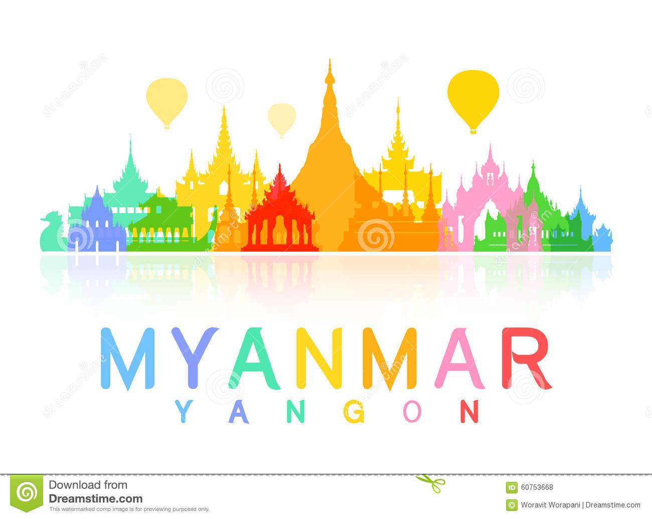 Yangon clipart - Clipground