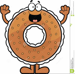 Bagel Graphics Clipart.