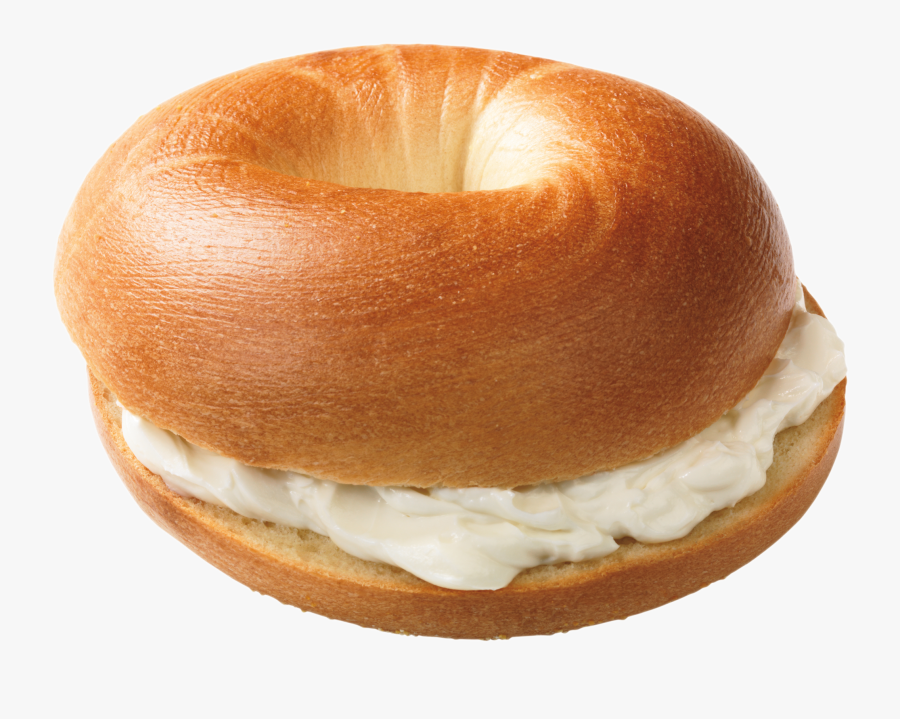 Bagel With Cream Cheese Png , Free Transparent Clipart.