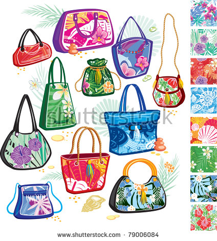 Bag Flower Stock Vectors & Vector Clip Art.