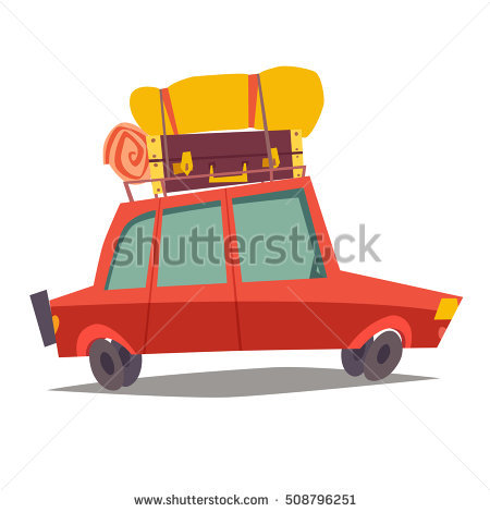 Car Baggage Stock Photos, Royalty.