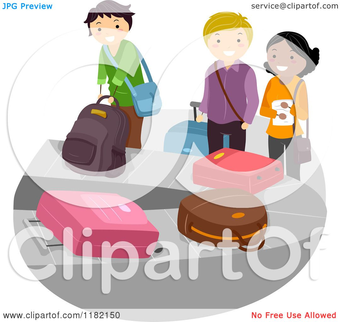 Baggage claim clipart 8 » Clipart Station.
