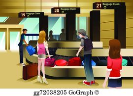 Baggage Claim Clip Art.