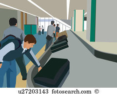 Baggage claim Illustrations and Clipart. 150 baggage claim royalty.