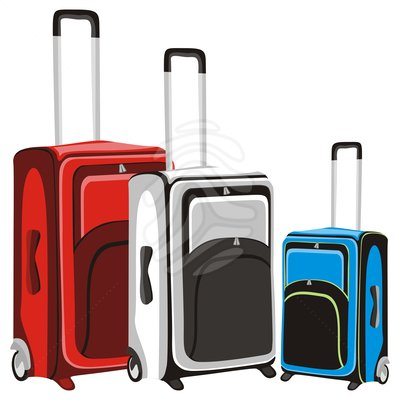 Travel Suitcase Clip Art.