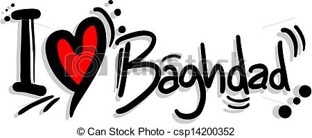 Clipart Vector of Love baghdad.