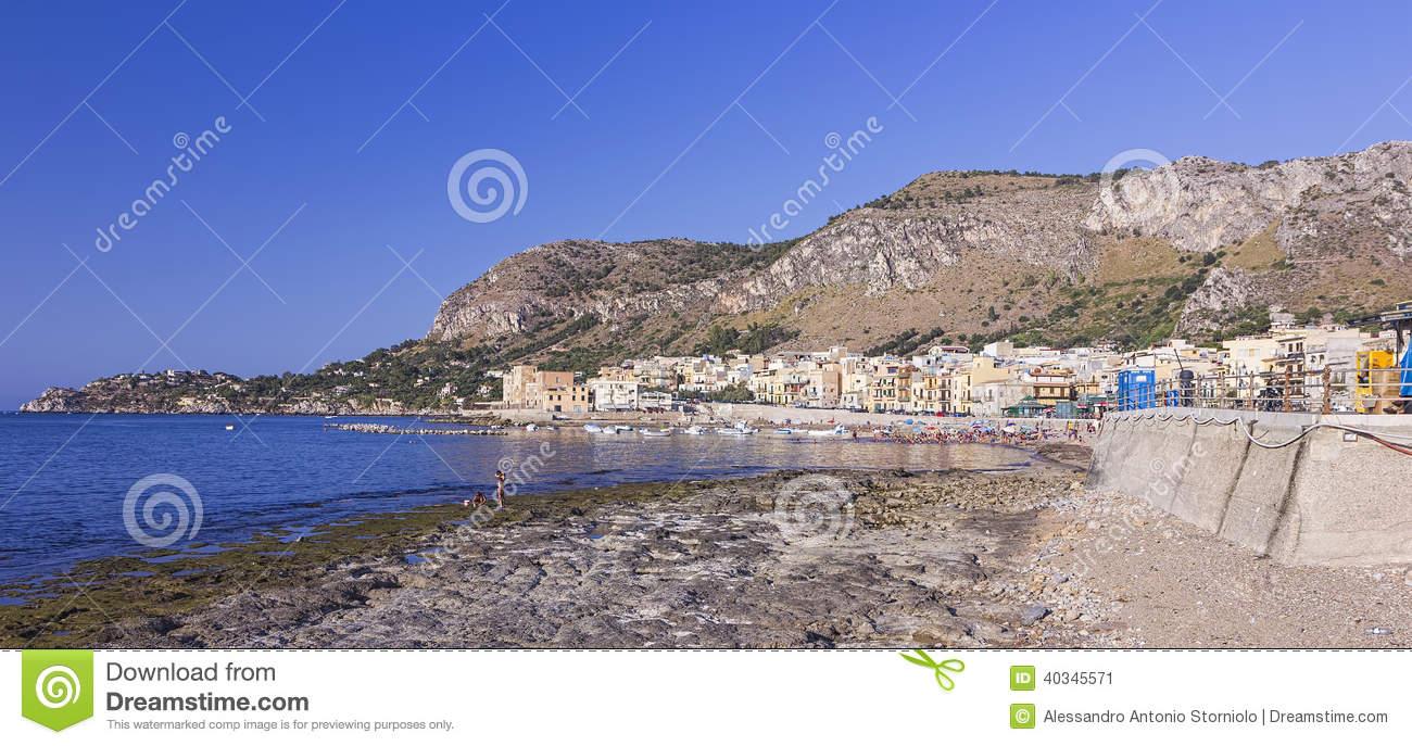 Beach Of Aspra.