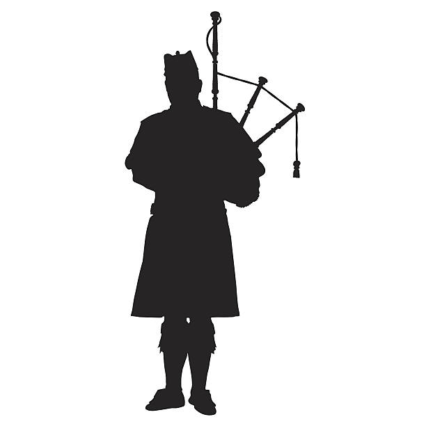 Best Bagpipe Illustrations, Royalty.