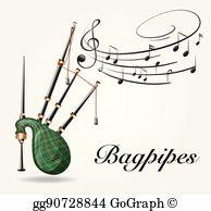 Bagpipes Clip Art.