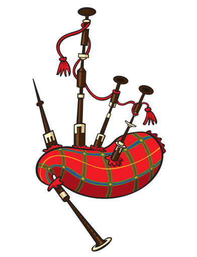 Download Free png Bagpipes Clipart Bagpipes Cli.