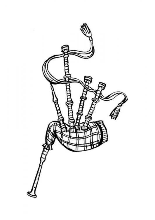 62+ Bagpipes Clipart.