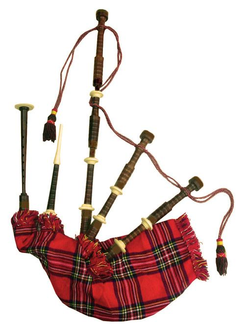 Bagpipes are a traditional instrument of Scotland. They were.