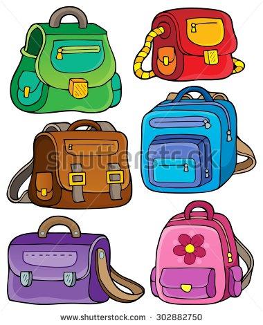 Bags clip art.