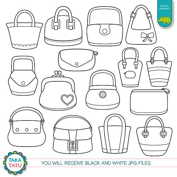 Tote Bag Digital Stamp Pack.