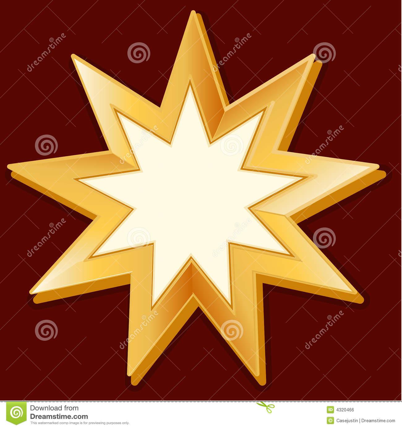 Baha'i Symbols Clip Art.
