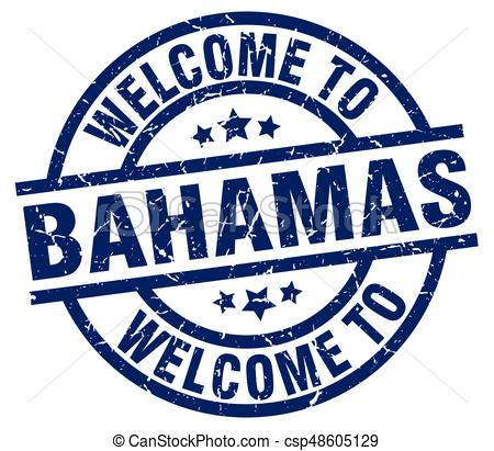 welcome to Bahamas blue stamp.