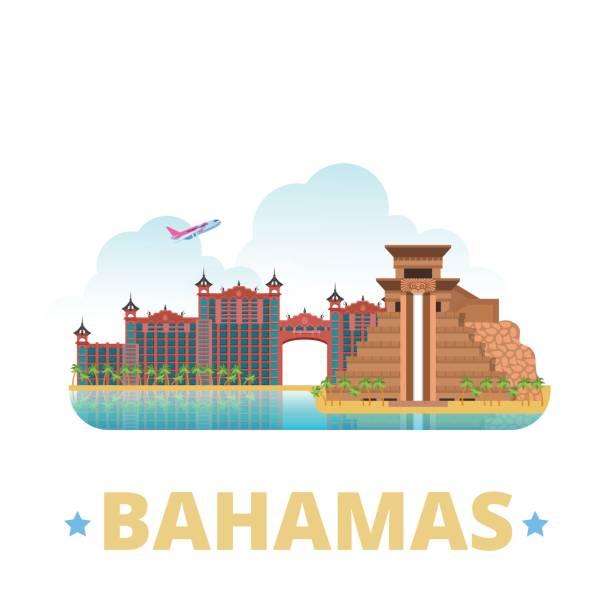 Best Bahamas Illustrations, Royalty.