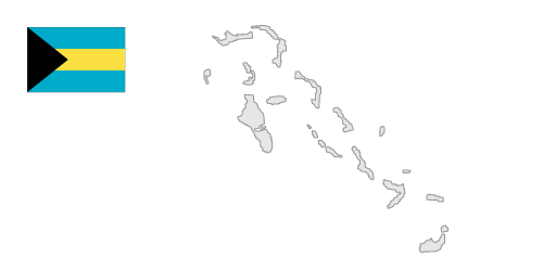Map of bahama islands clipart.