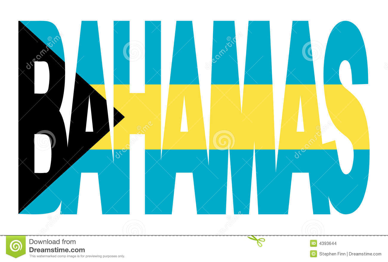 Bahamas Map Clipart.