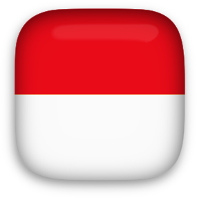 Free Animated Indonesia Flags.