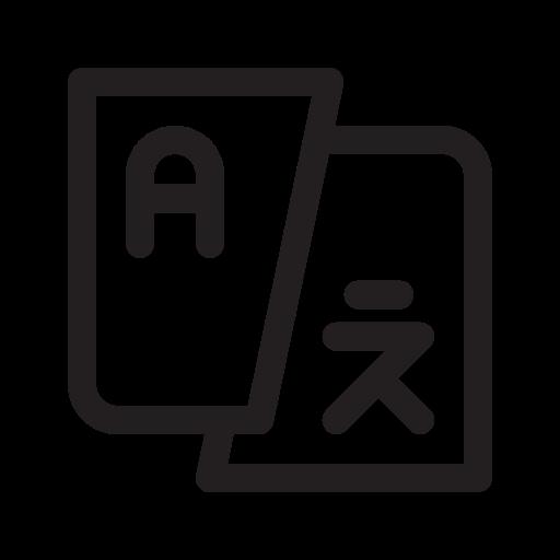 Bahasa, transtlation, menerjemahkan Ikon Gratis dari Wondicon.