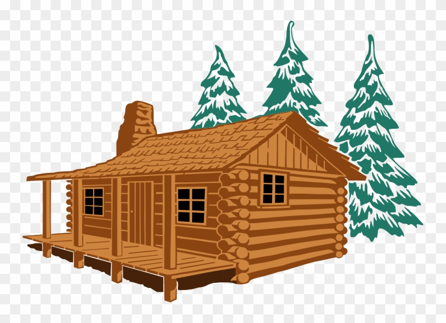 Clipart Of Logging, Cute Home And Bahay.