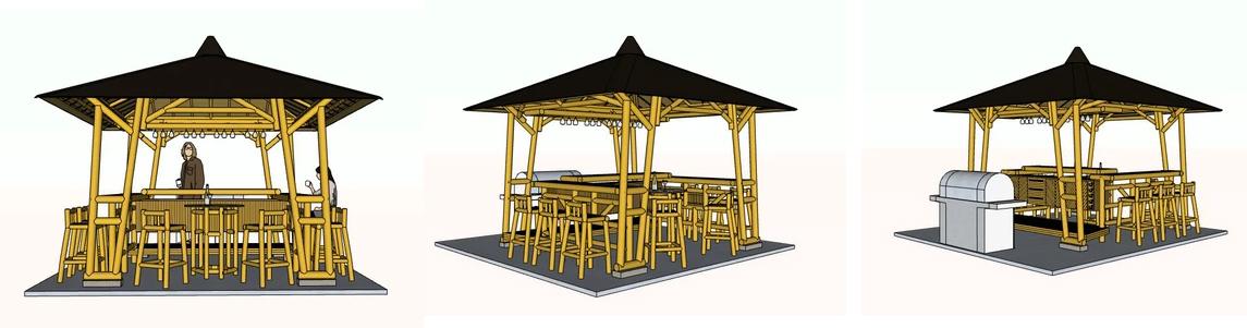 Nipa Hut Design in the Philippines.