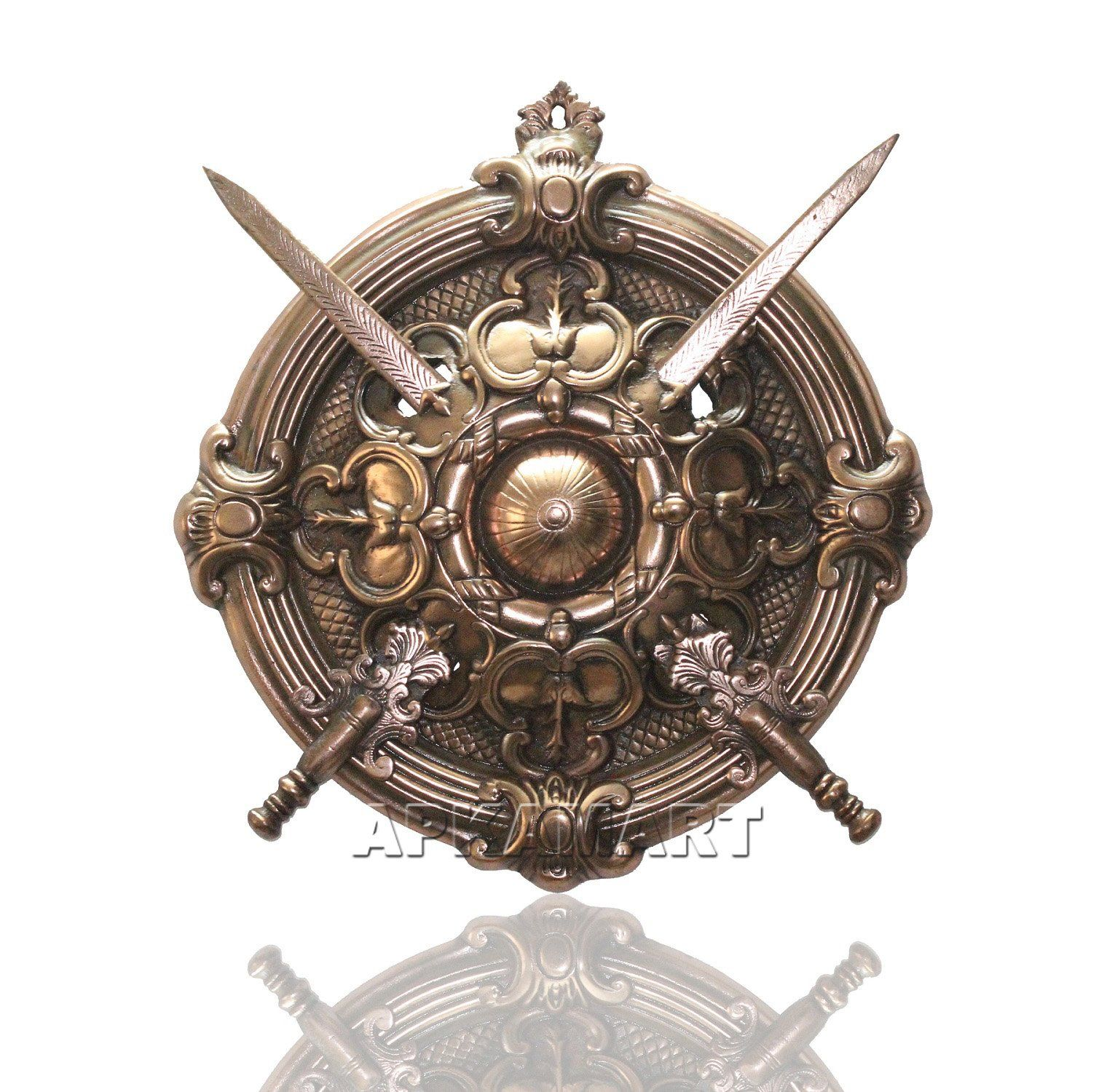 Pin on Sword and shield.