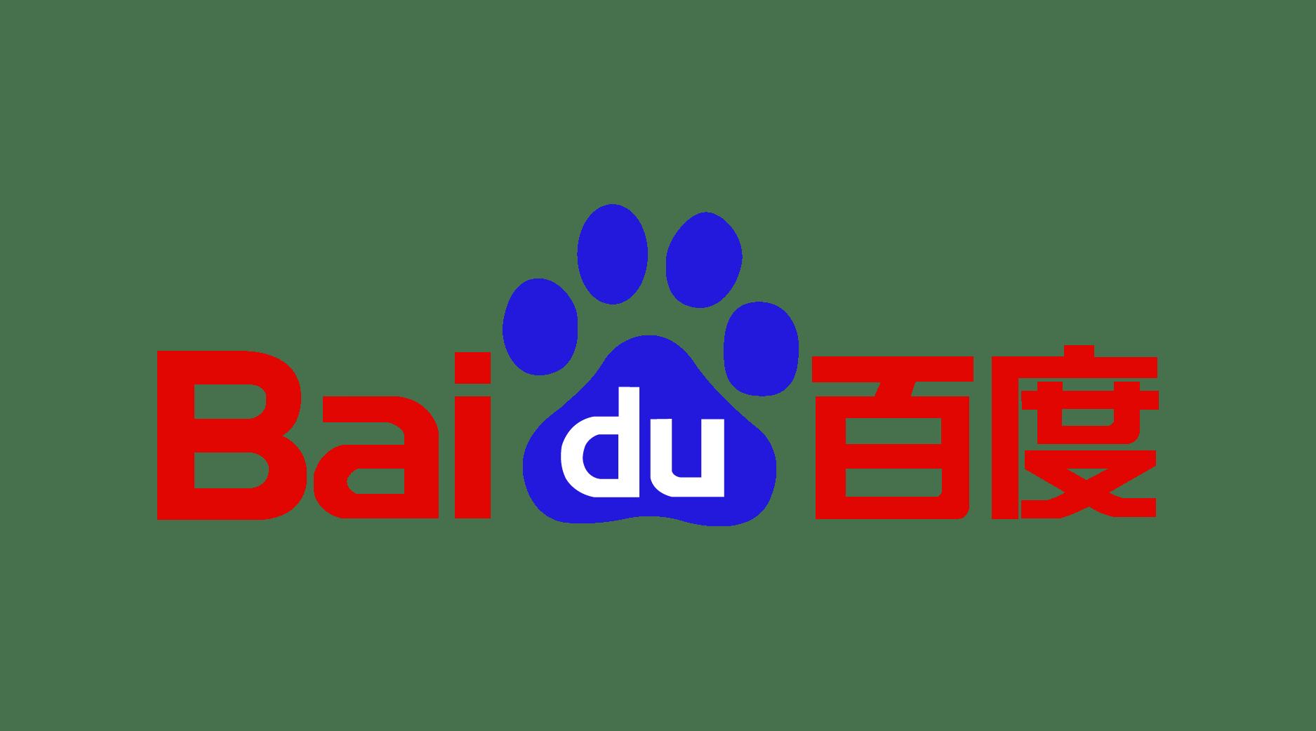Baidu Logo transparent PNG.