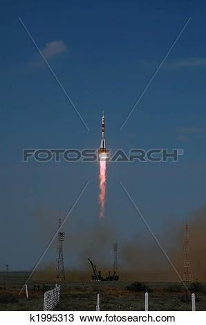 Stock Photo of Soyuz TMA.
