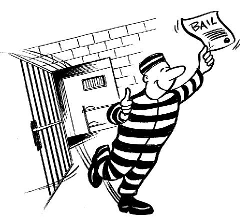 Bail Bonds Clip Art.